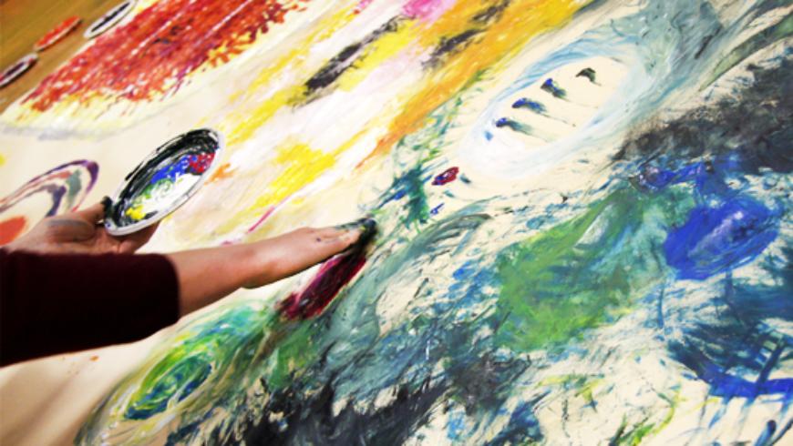 Luisa Follone, la nostra arte-terapeuta