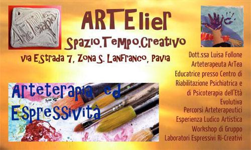 Laboratori ARTElier Spazio e tempo creativo, con Luisa Follone