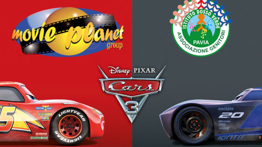 """CARS 3"" – Evento benefico al Movie Planet di S. Martino"