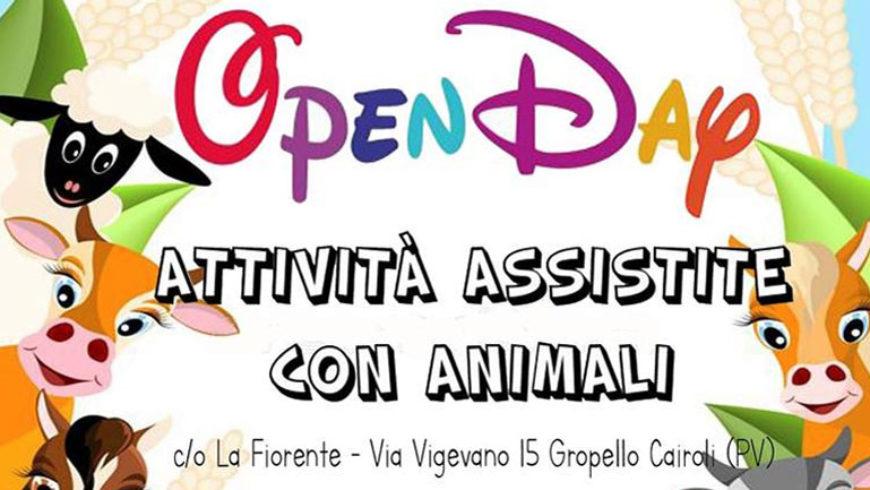 """Open Day """"La Fiorente"""": Attività Assistite con Animali"""